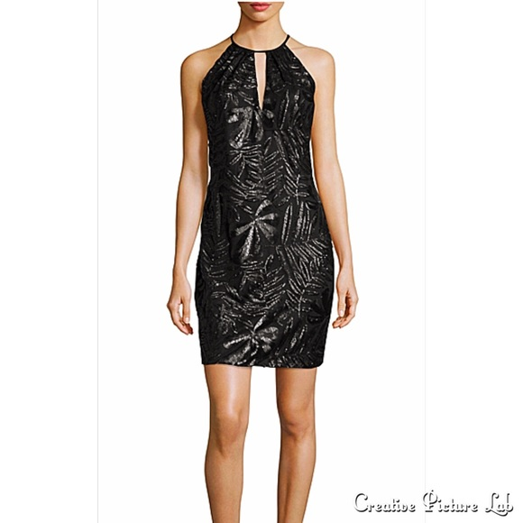 9877b6571a3 Carmen Marc Valvo Embroidered Cocktail Dress NWT